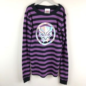 NWT Hanna Andersson Marvel Black Panther PJ TOP 12